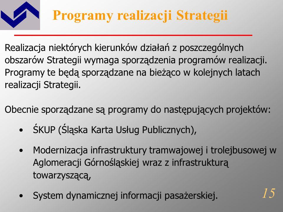 Programy realizacji Strategii