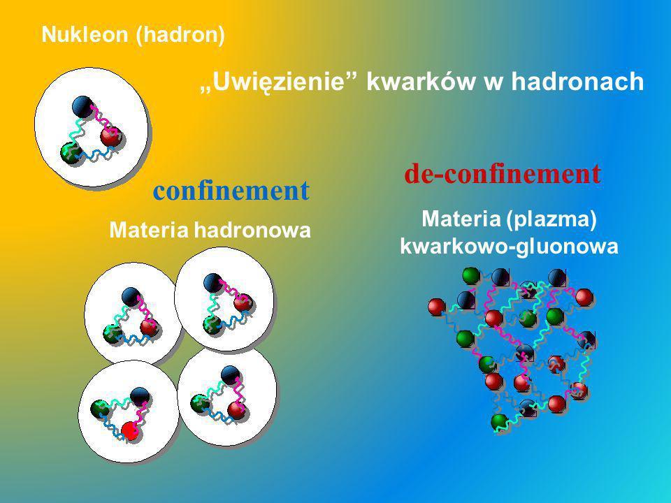 """""""Uwięzienie kwarków w hadronach"""