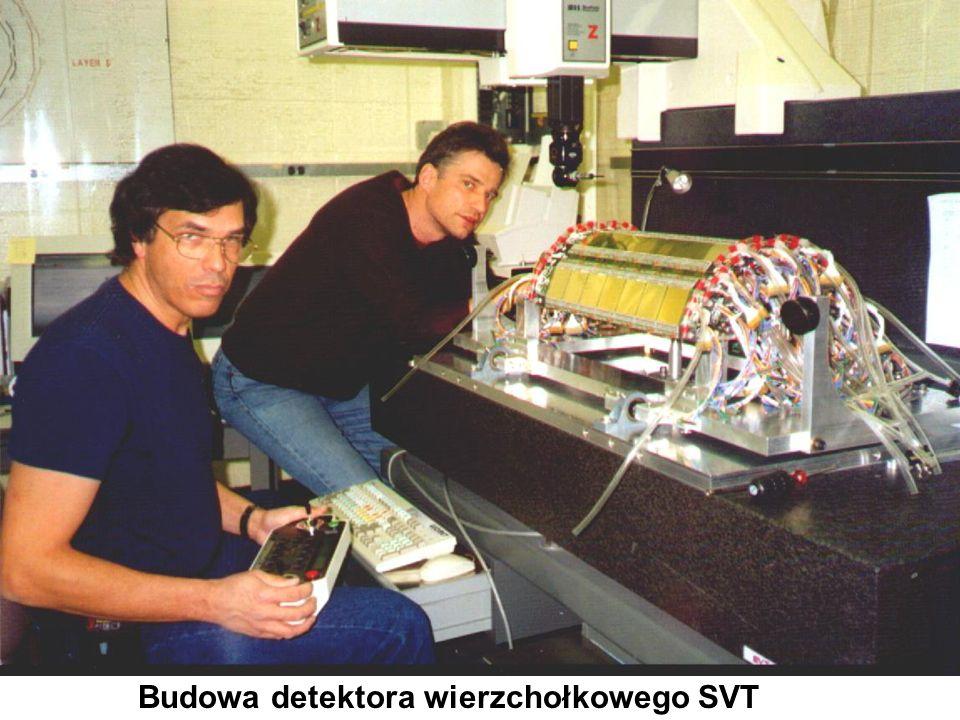 Budowa detektora wierzchołkowego SVT