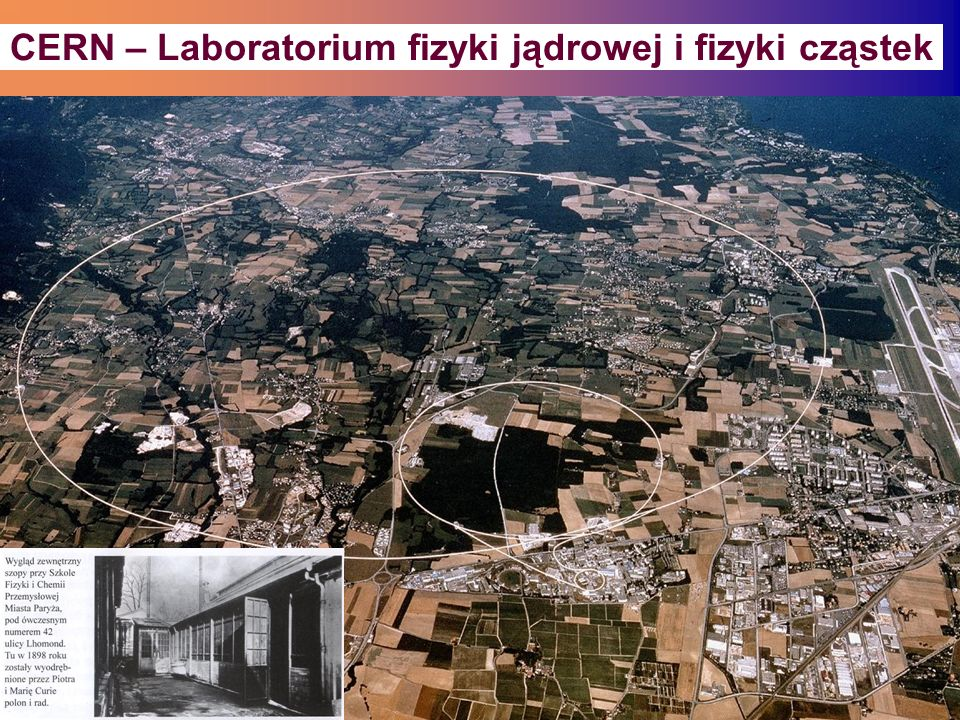 CERN – Laboratorium fizyki jądrowej i fizyki cząstek