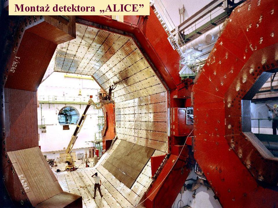 "Montaż detektora ""ALICE"