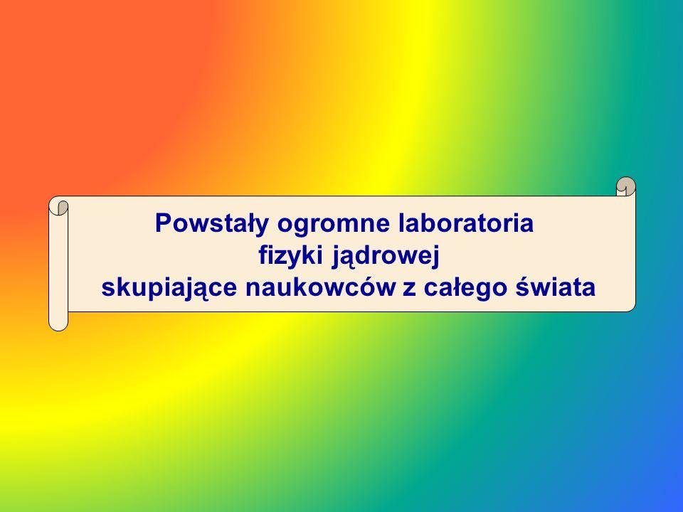 Powstały ogromne laboratoria skupiające naukowców z całego świata