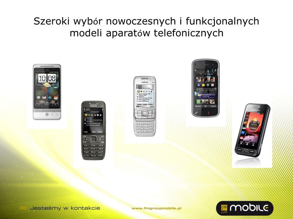 Szeroki wybór nowoczesnych i funkcjonalnych modeli aparatów telefonicznych