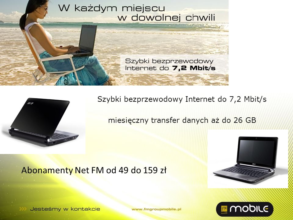 Abonamenty Net FM od 49 do 159 zł