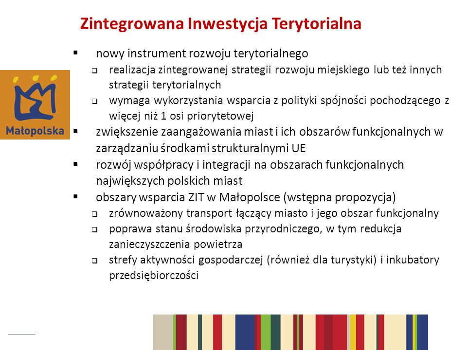 Zintegrowana Inwestycja Terytorialna