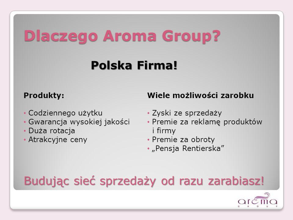 Dlaczego Aroma Group Polska Firma!