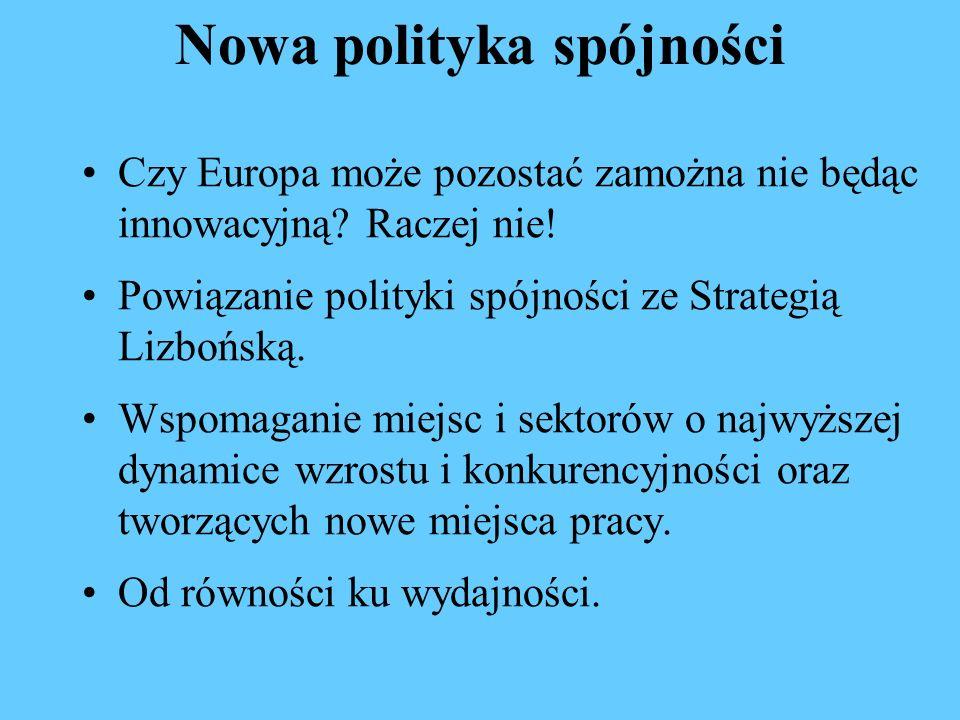 Nowa polityka spójności