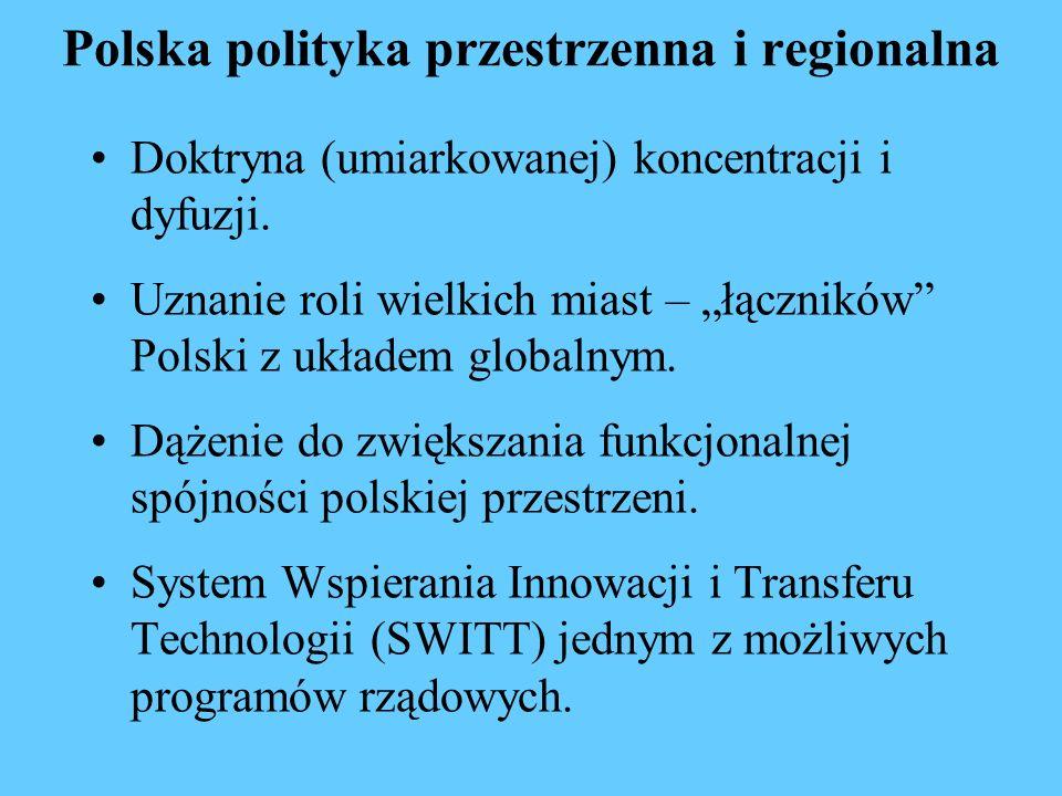 Polska polityka przestrzenna i regionalna