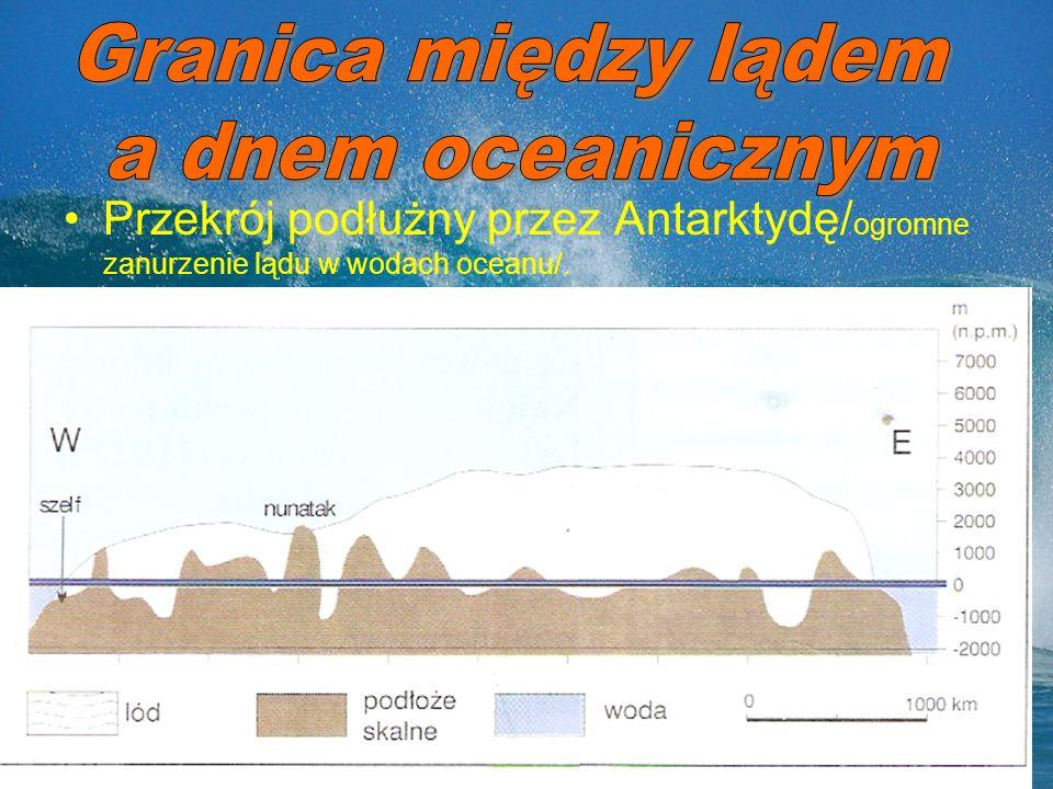 Granica między lądem a dnem oceanicznym