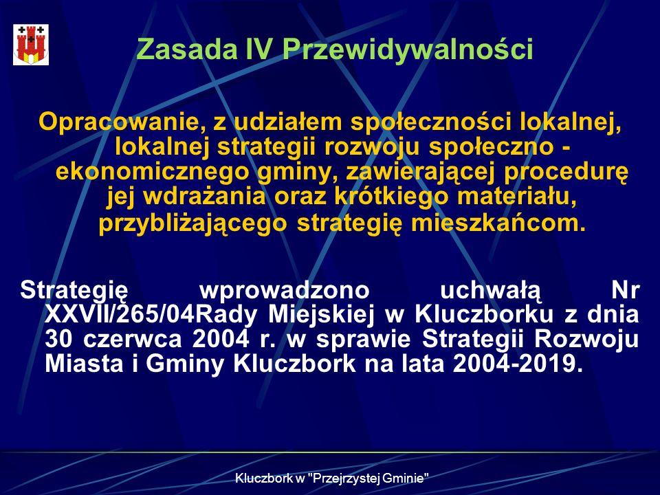 Zasada IV Przewidywalności