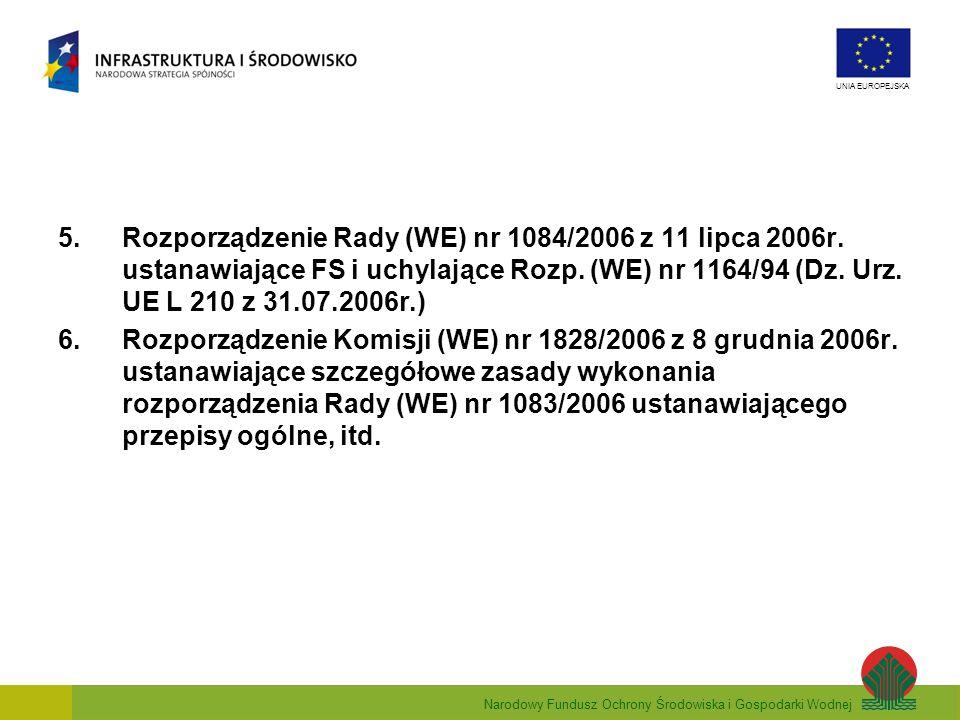 Rozporządzenie Rady (WE) nr 1084/2006 z 11 lipca 2006r
