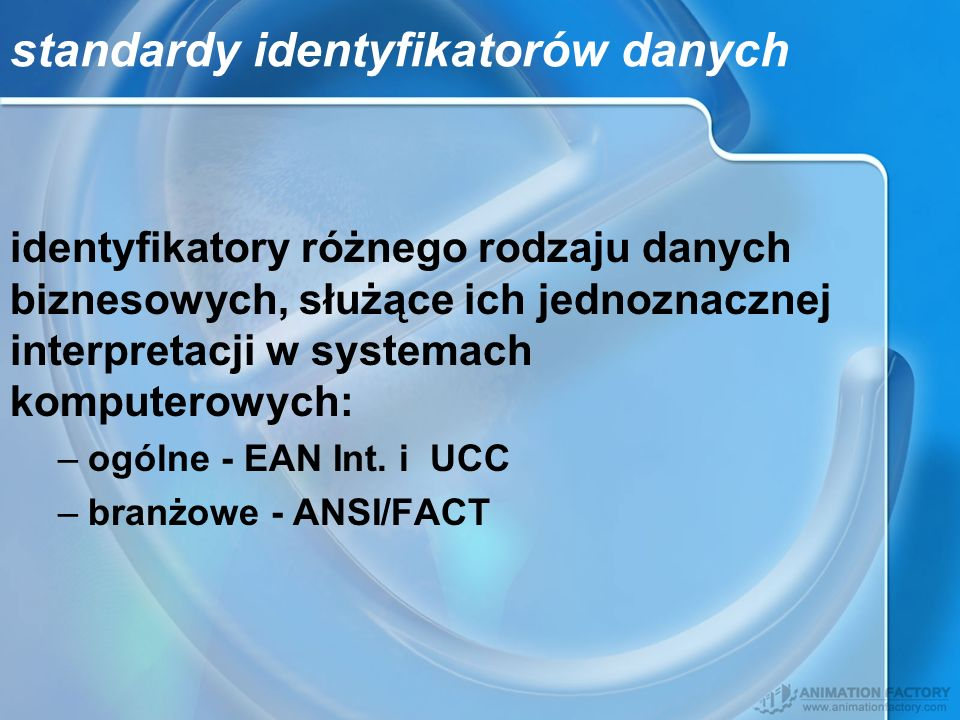 standardy identyfikatorów danych
