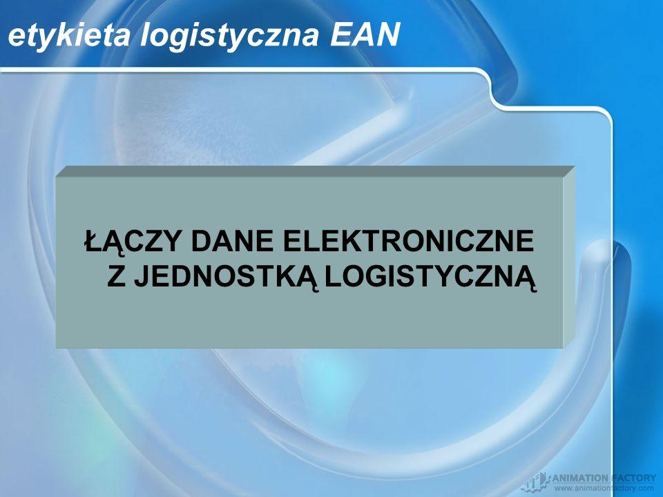 etykieta logistyczna EAN