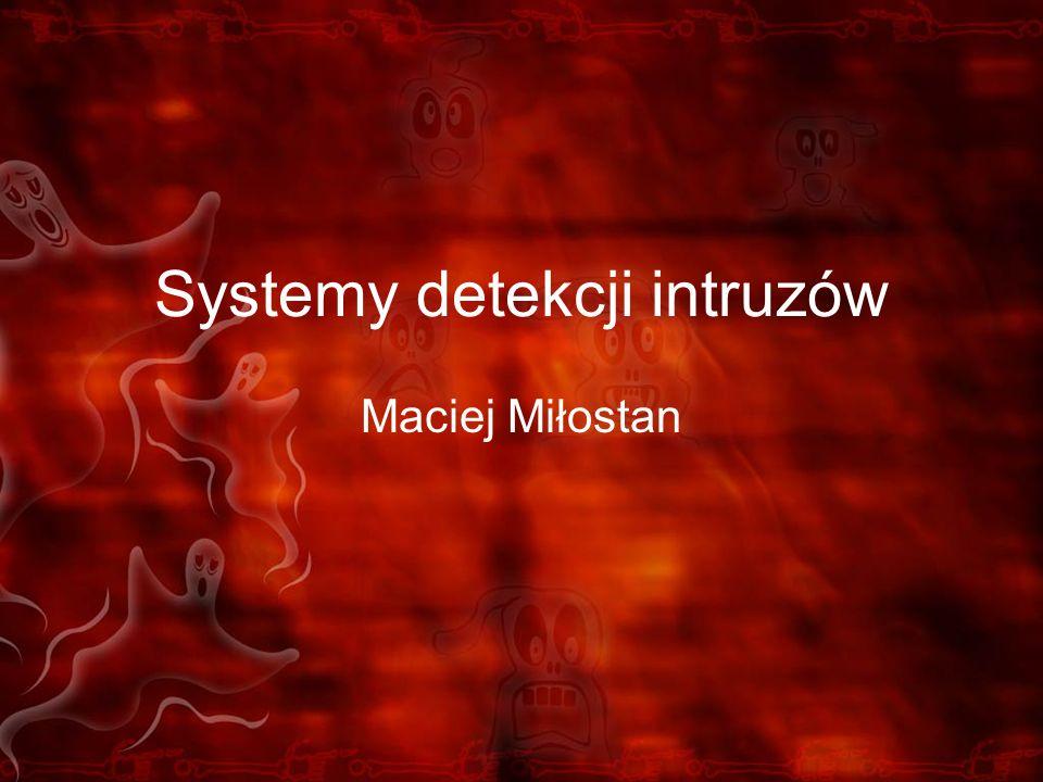 Systemy detekcji intruzów