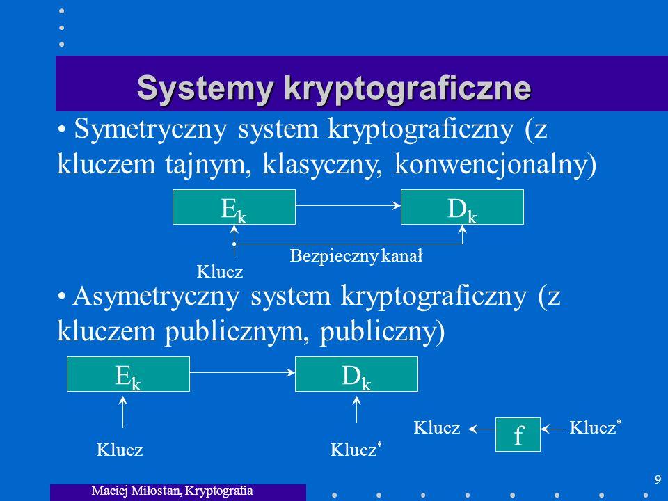 Systemy kryptograficzne