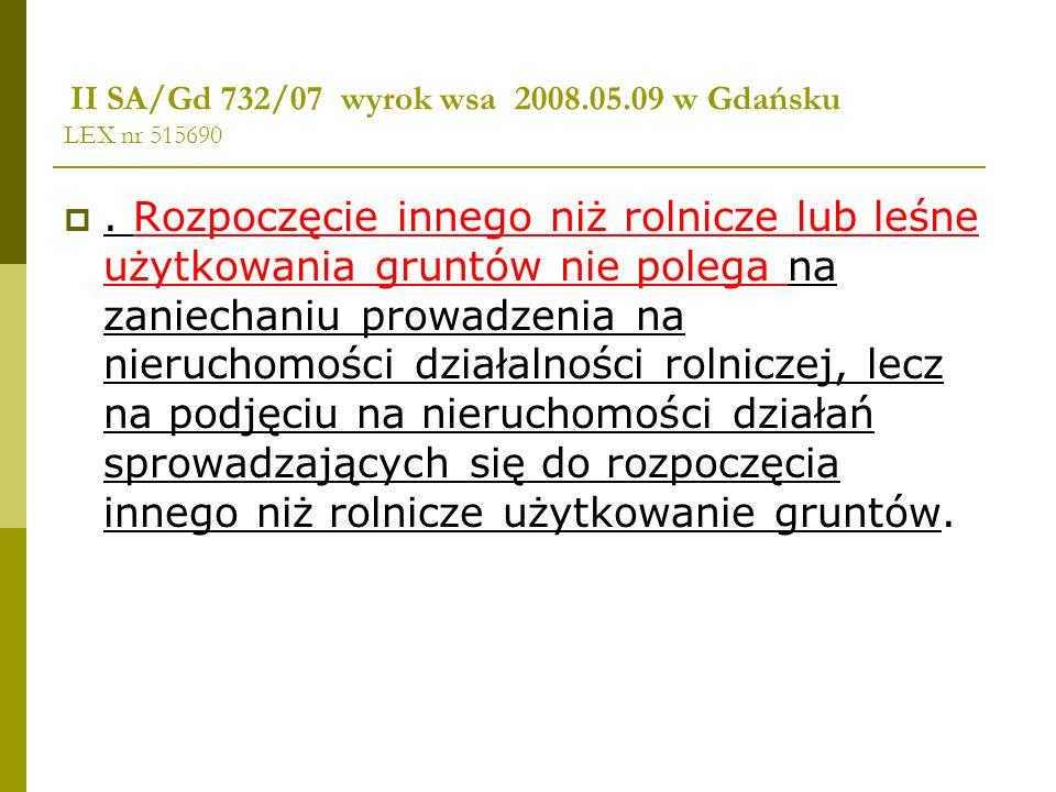 II SA/Gd 732/07 wyrok wsa 2008.05.09 w Gdańsku LEX nr 515690