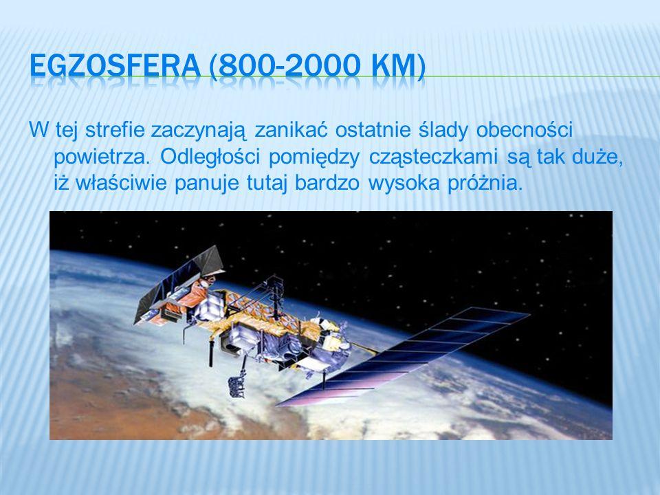 Egzosfera (800-2000 km)