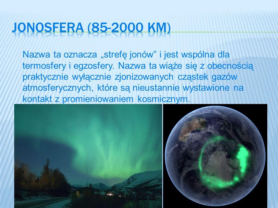 Jonosfera (85-2000 km)