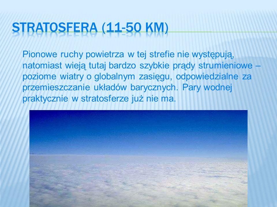 Stratosfera (11-50 km)