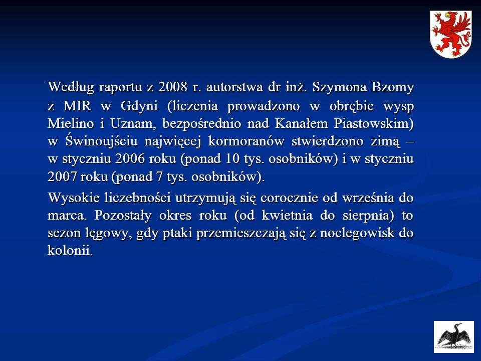Według raportu z 2008 r. autorstwa dr inż