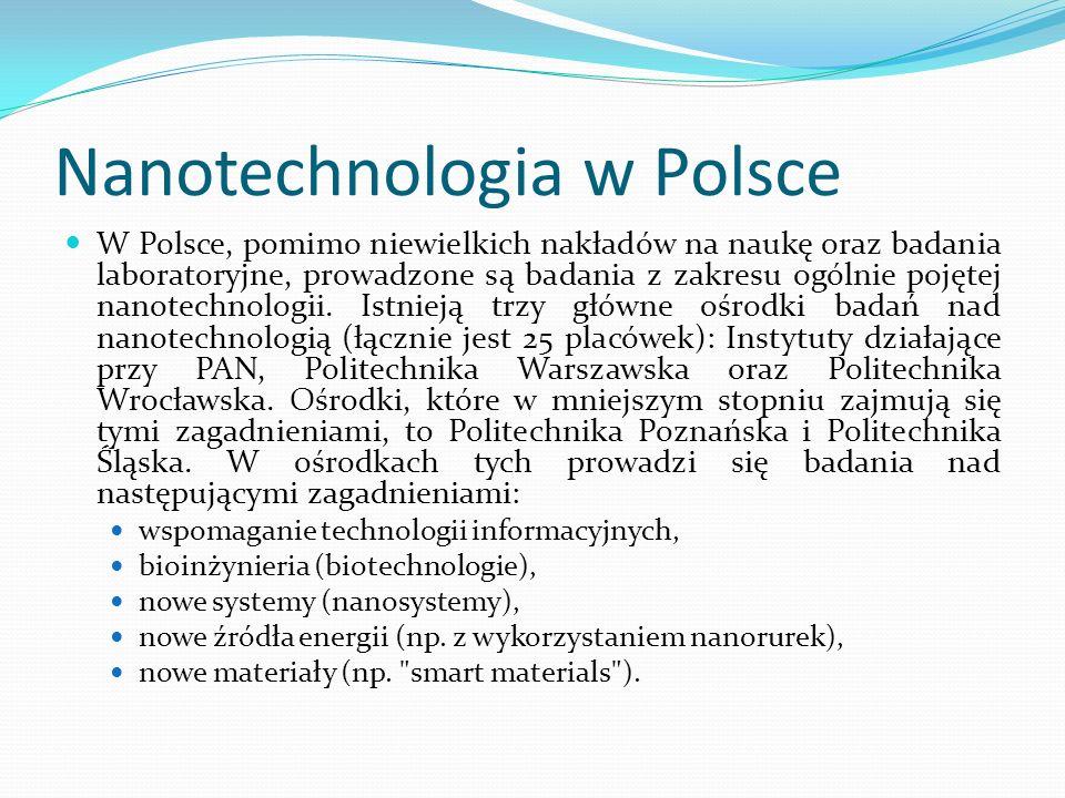 Nanotechnologia w Polsce