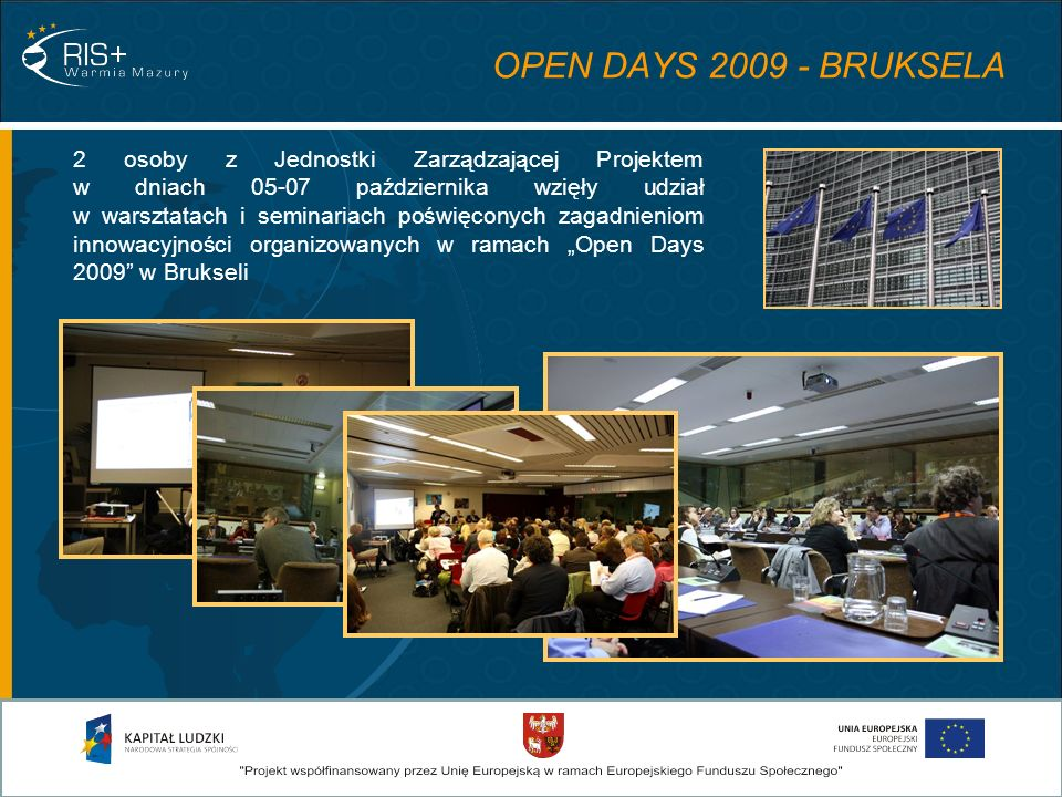 OPEN DAYS 2009 - BRUKSELA