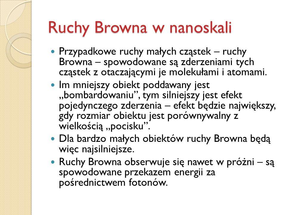 Ruchy Browna w nanoskali