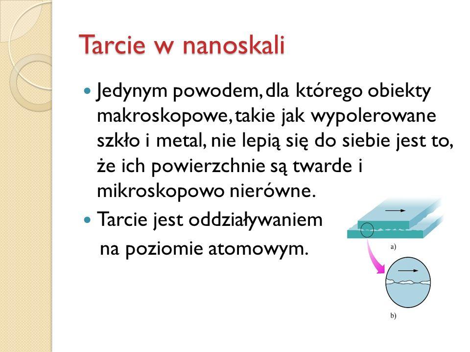 Tarcie w nanoskali