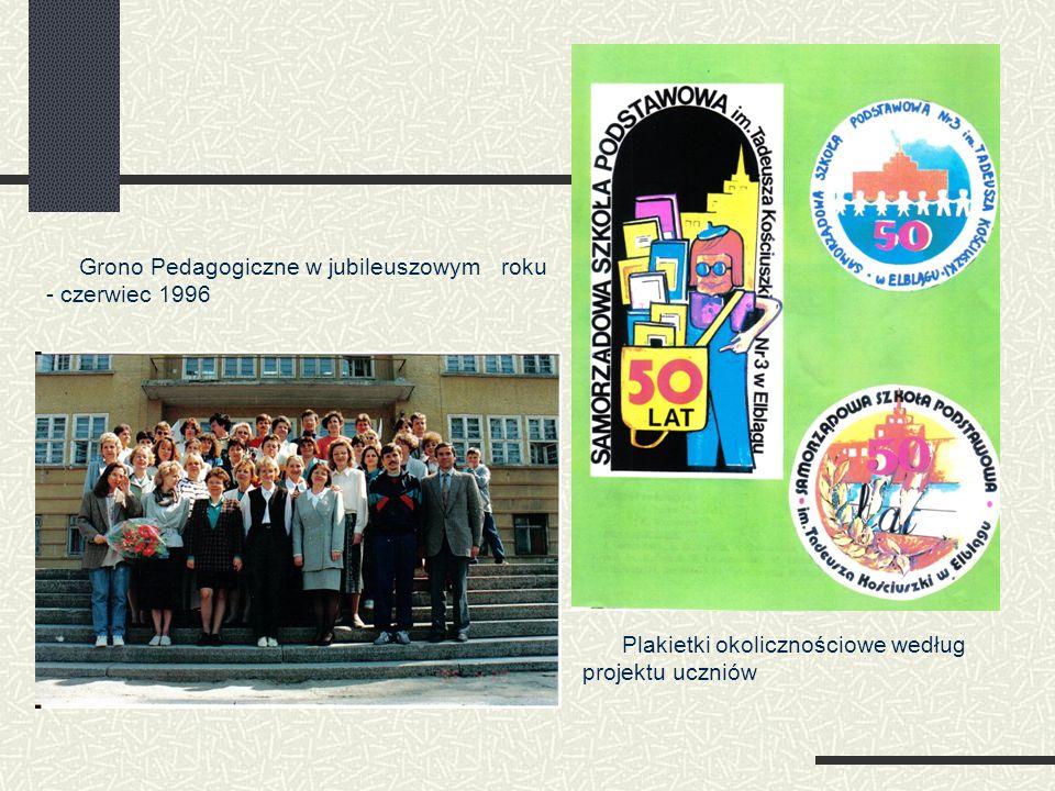 Grono Pedagogiczne w jubileuszowym roku - czerwiec 1996