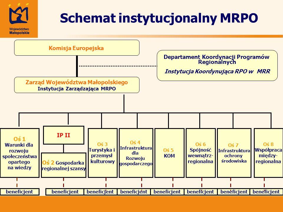 Schemat instytucjonalny MRPO