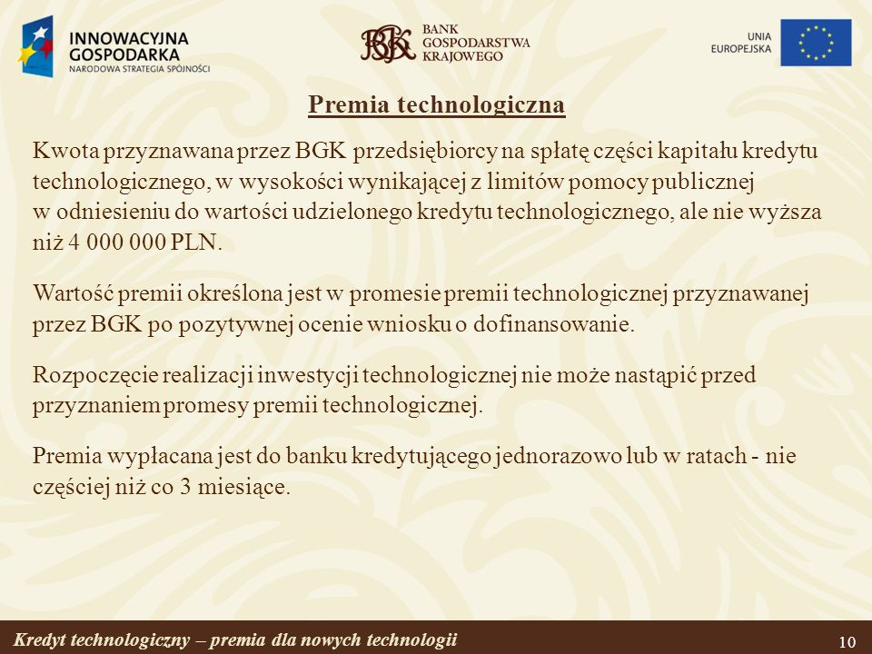 Premia technologiczna