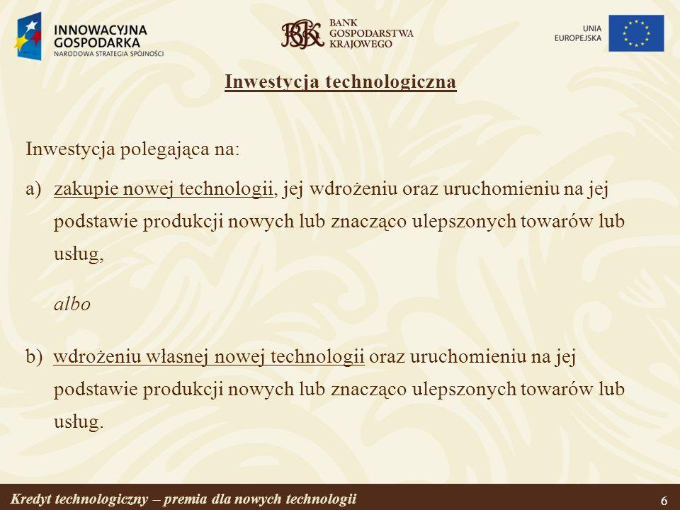Inwestycja technologiczna