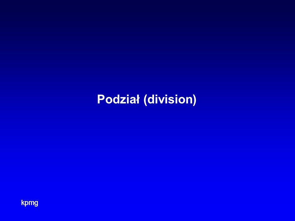 Podział (division)