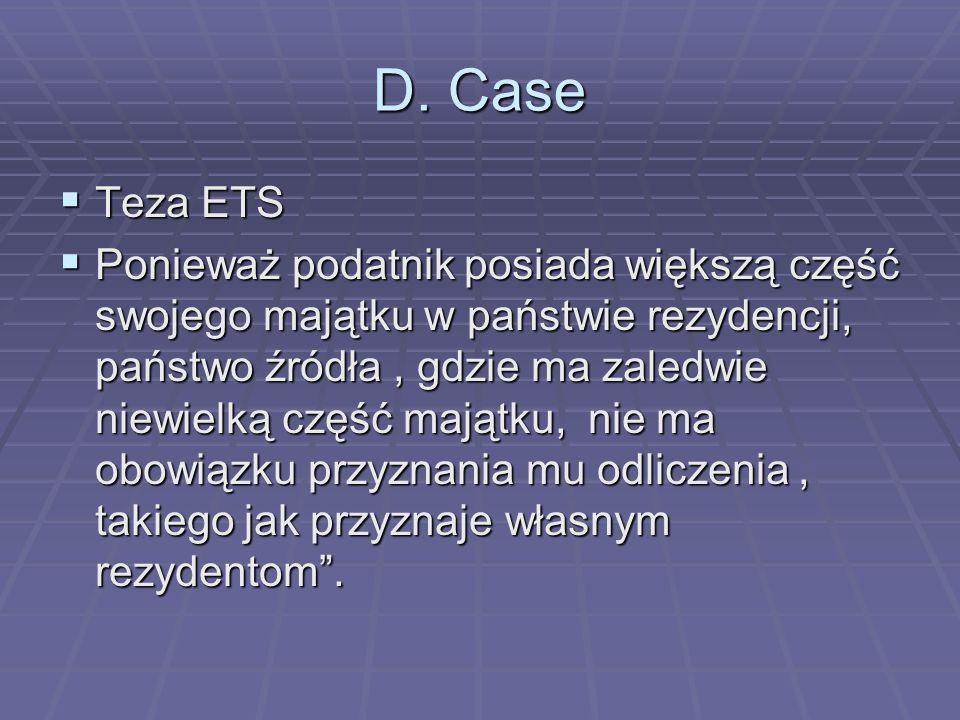 D. CaseTeza ETS.