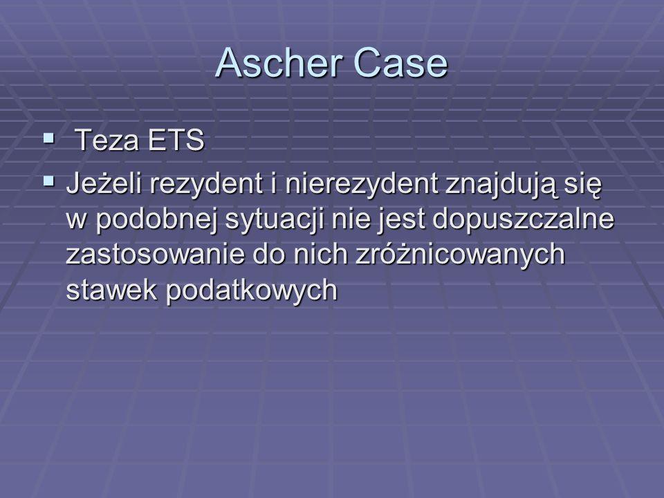 Ascher CaseTeza ETS.