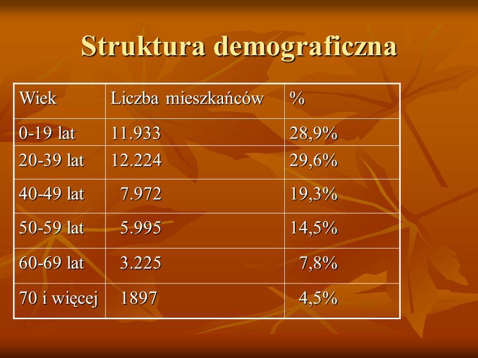 Struktura demograficzna
