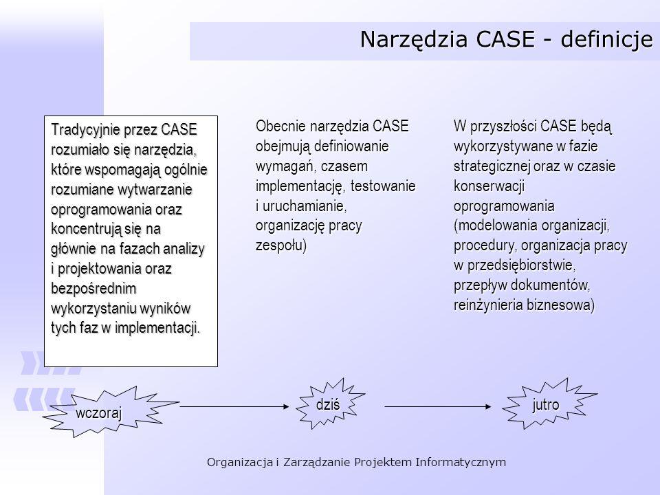 Narzędzia CASE - definicje