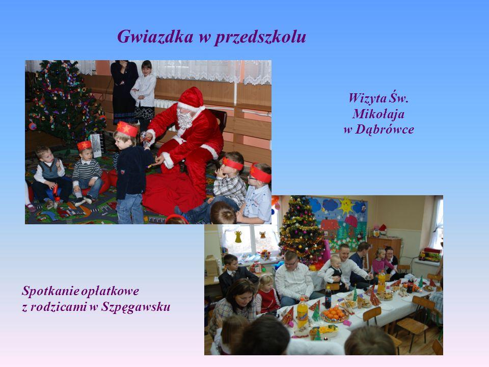 Wizyta Św. Mikołaja w Dąbrówce