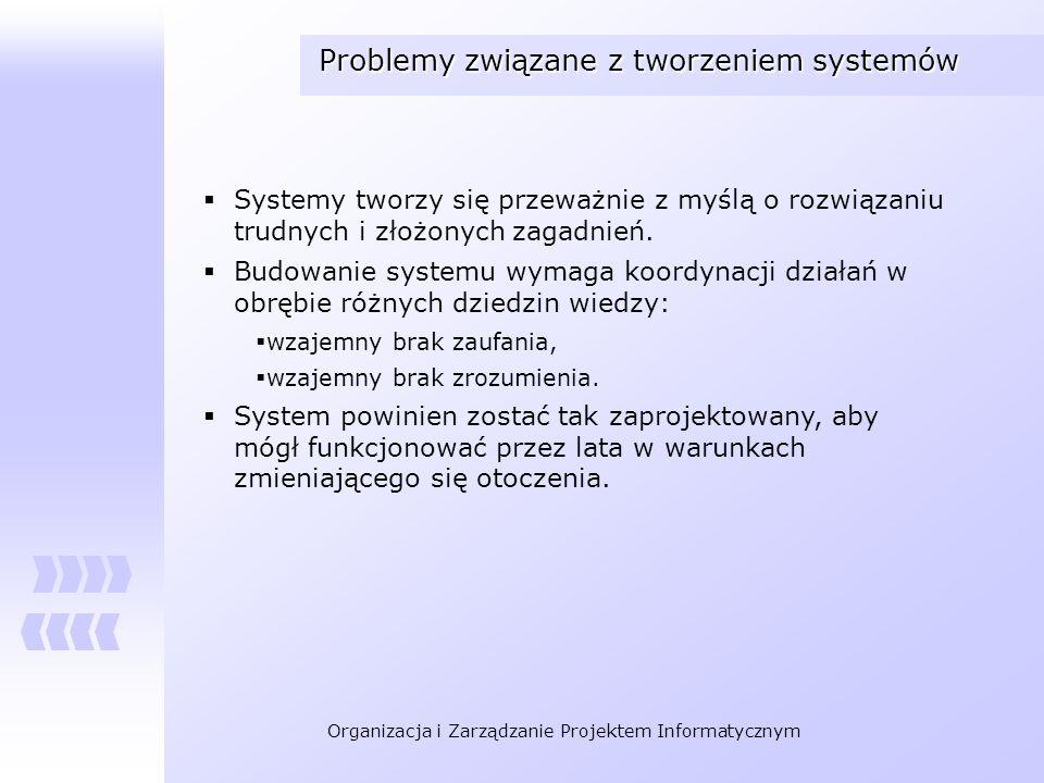Problemy związane z tworzeniem systemów