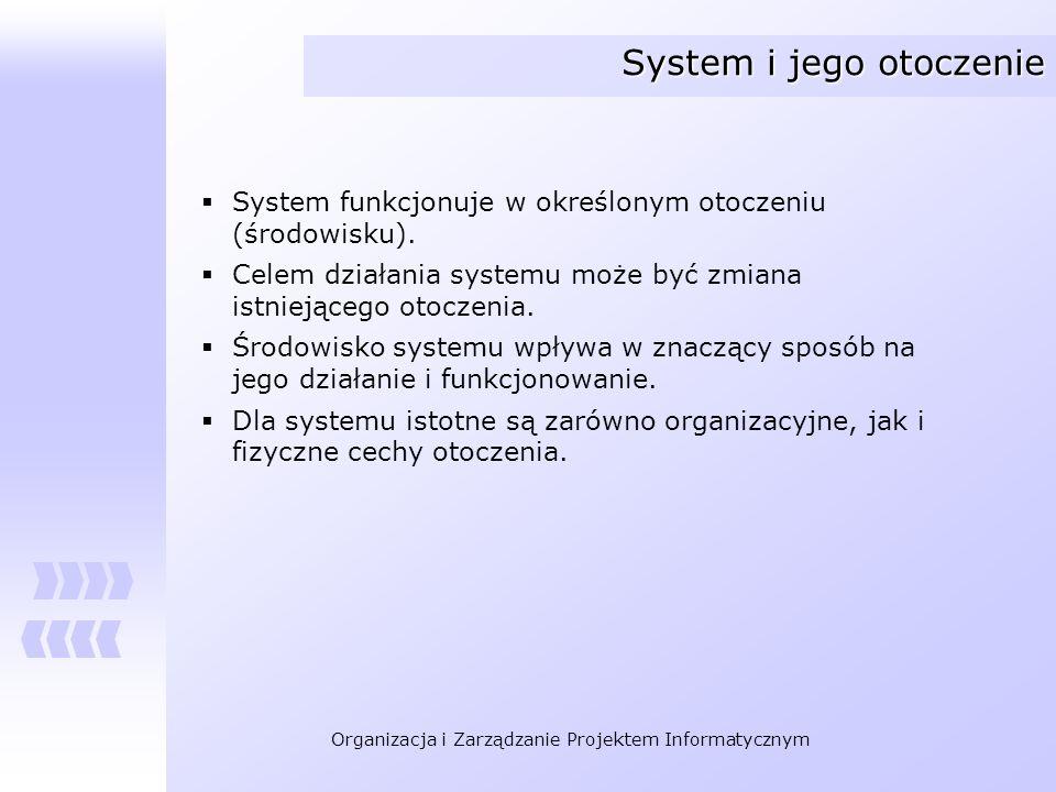 System i jego otoczenie