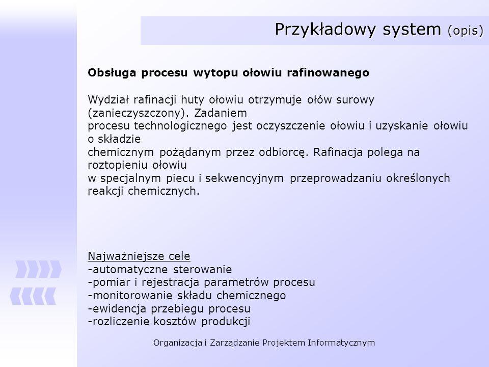 Przykładowy system (opis)