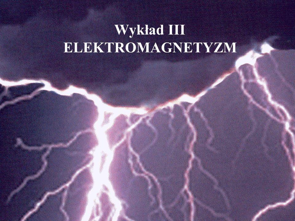 Wykład III ELEKTROMAGNETYZM