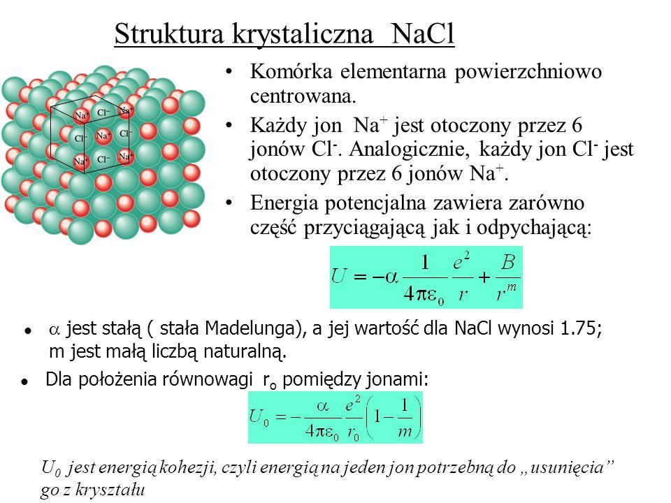 Struktura krystaliczna NaCl
