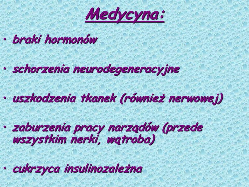 Medycyna: braki hormonów schorzenia neurodegeneracyjne