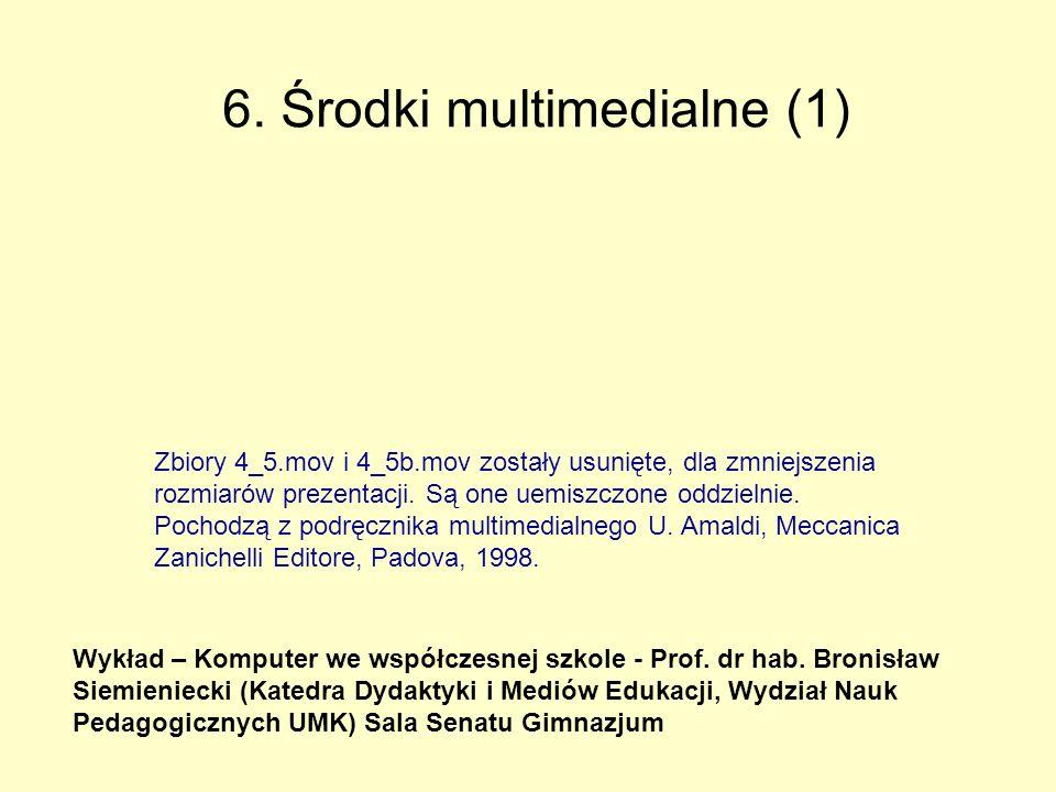 6. Środki multimedialne (1)