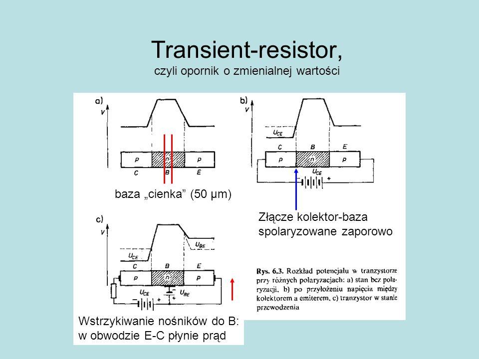 Transient-resistor, czyli opornik o zmienialnej wartości