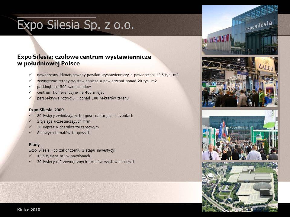 Expo Silesia Sp. z o.o. Expo Silesia: czołowe centrum wystawiennicze