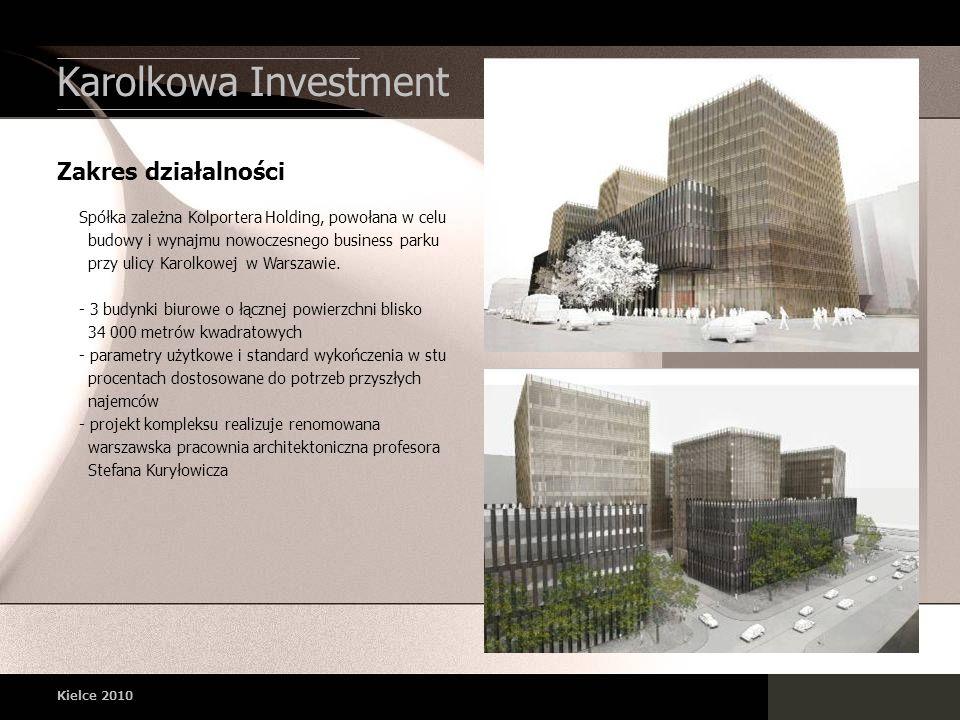 Karolkowa Investment Zakres działalności
