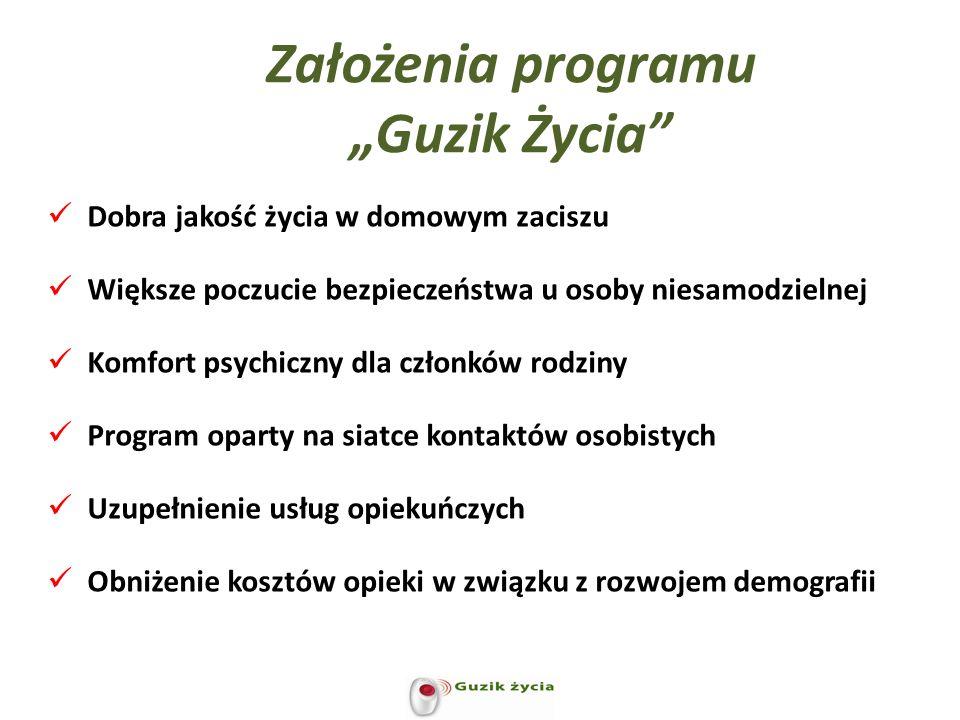 """Założenia programu """"Guzik Życia"""