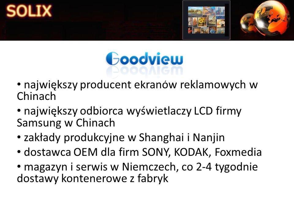 największy producent ekranów reklamowych w Chinach